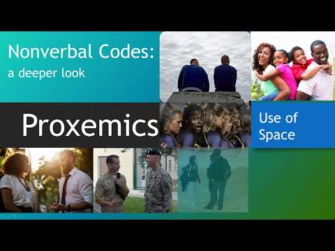 Nonverbal Code: Proxemics (Space)