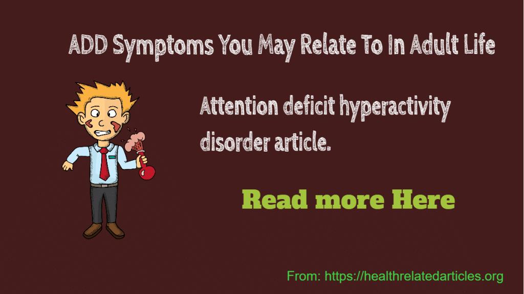 ADD Symptoms
