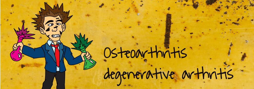 Osteoarthritis degenerative arthritis