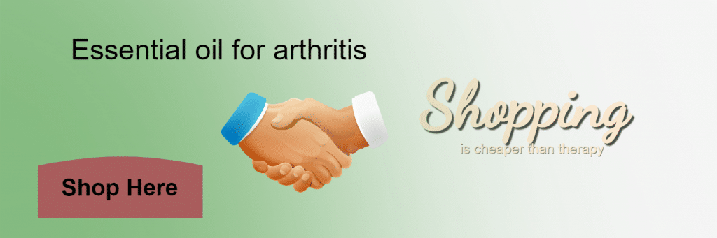 Essential oil for arthritis